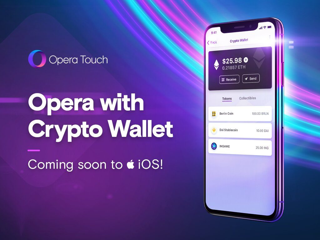 Opera Touch Crypto Wallet