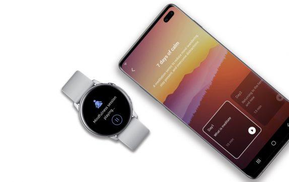 Samsung and Calm