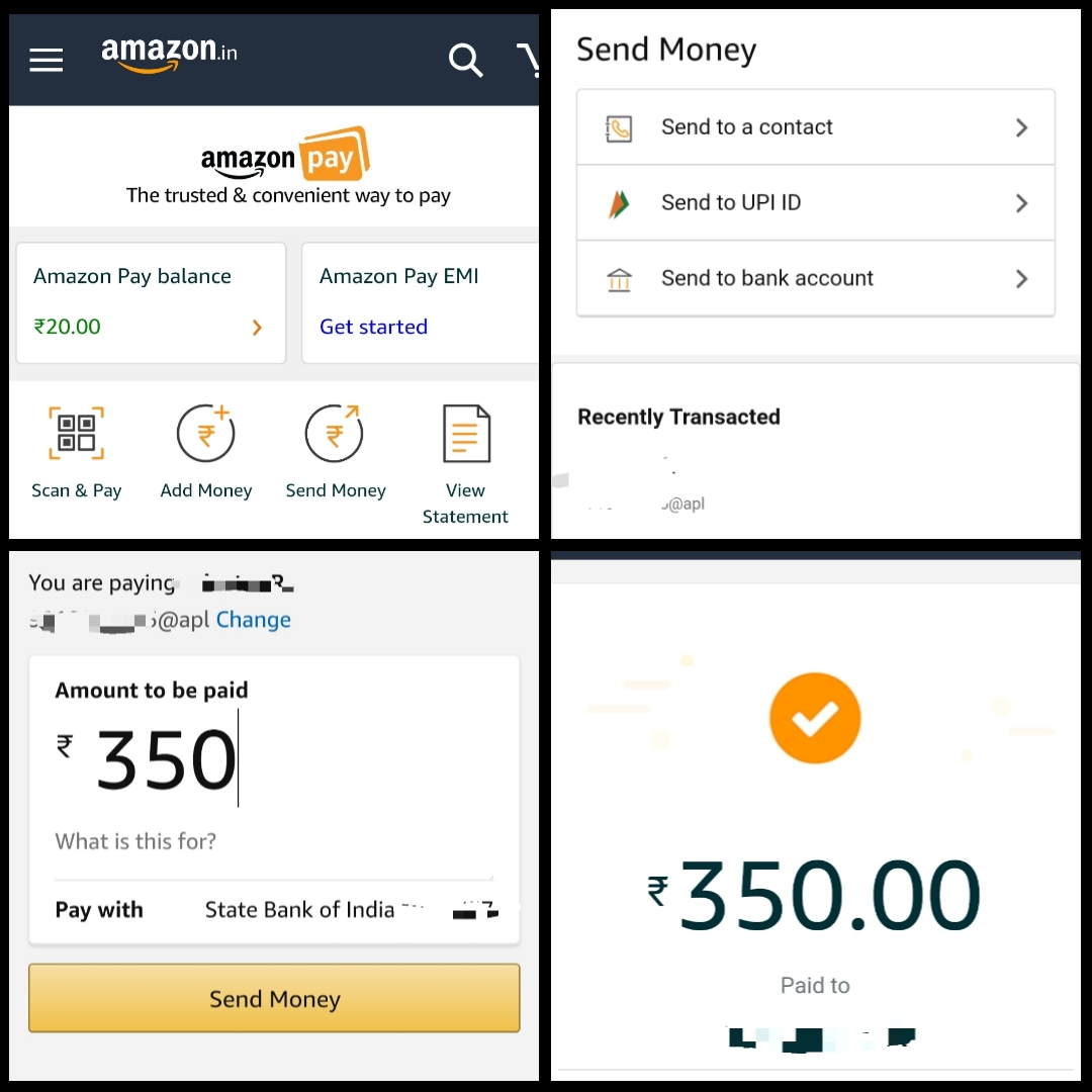 Amazon Pay instant P2P UPI payments launched in India