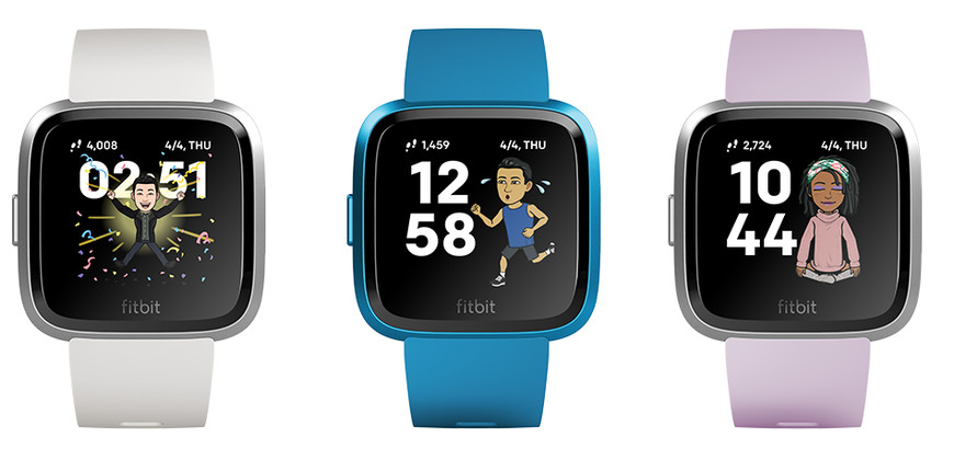 Fitbit Smartwatches get Snapchat Bitmoji Watch Face