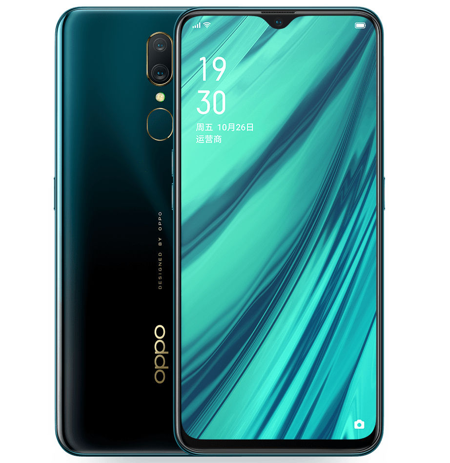 OPPO A9 with 6 53-inch FHD+ display, 6GB RAM, dual rear