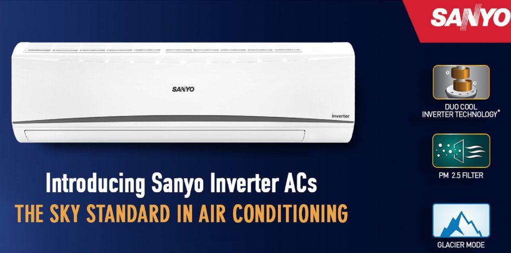 3081b5658 Panasonic s online brand Sanyo launches Inverter ACs in India ...