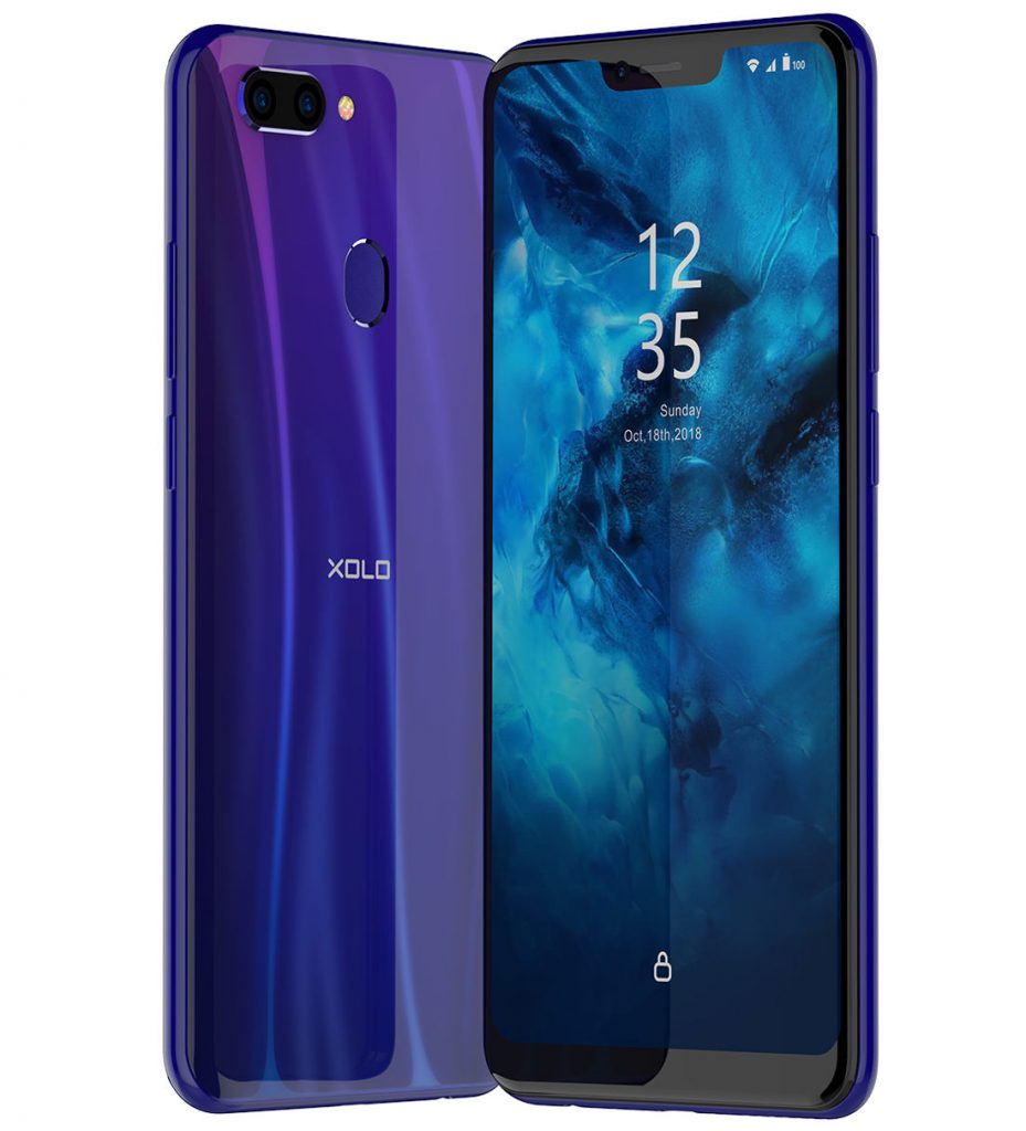 e20474a3b Xolo ZX with 6.22-inch notch display