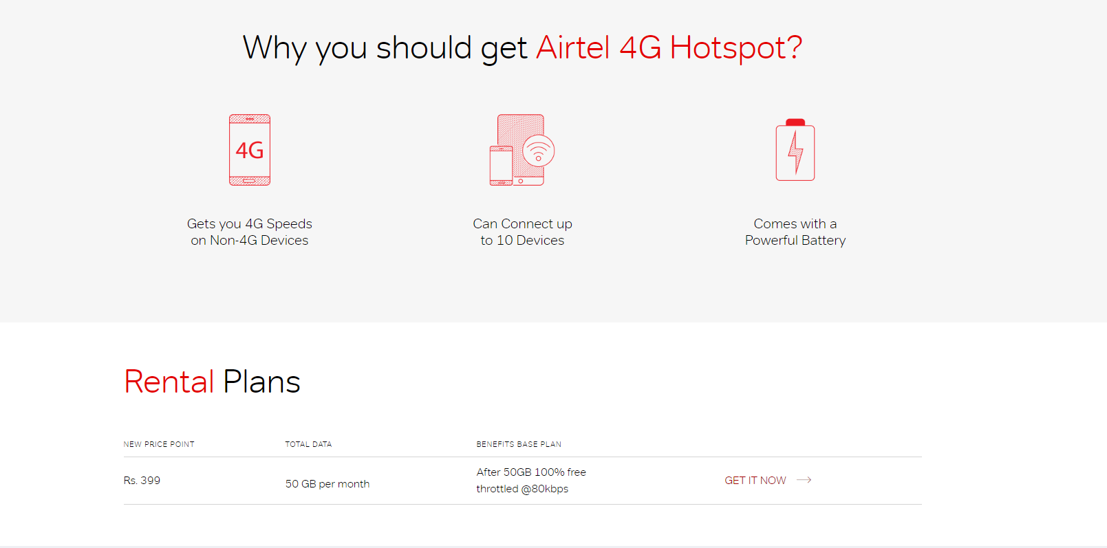 Airtel 4G Hotspot gets another price cut, now available at