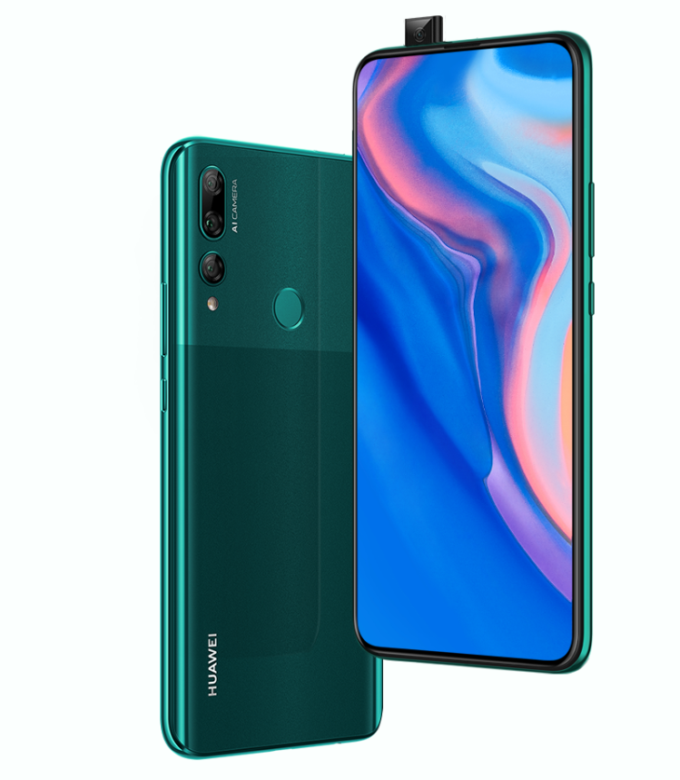HUAWEI Y9 Prime 2019 with 6 59-inch FHD+ display, triple