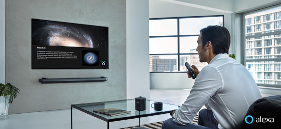 LG starts rolling out Alexa support to 2019 AI ThinQ TVs