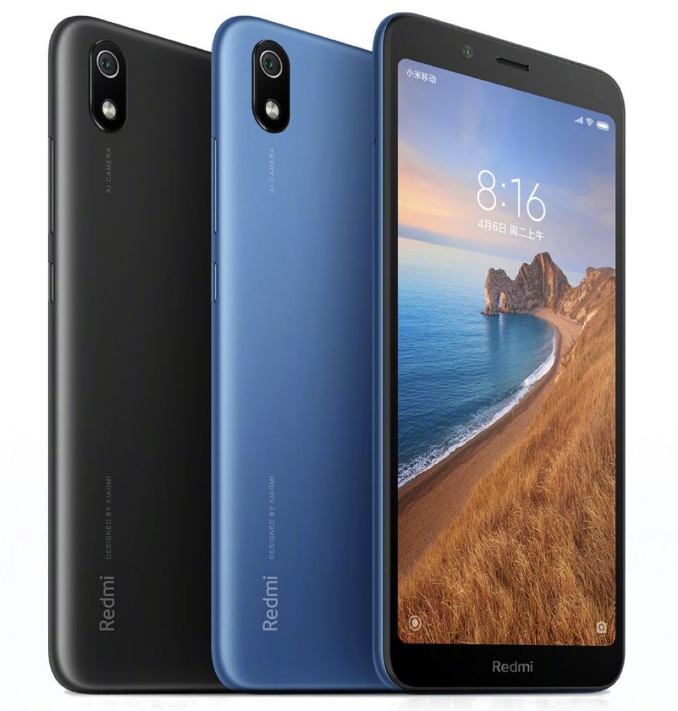 Xiaomi Redmi 7A with 5.45-inch HD+ display, Snapdragon 439, 4000mAh battery, splash-resistant body announced