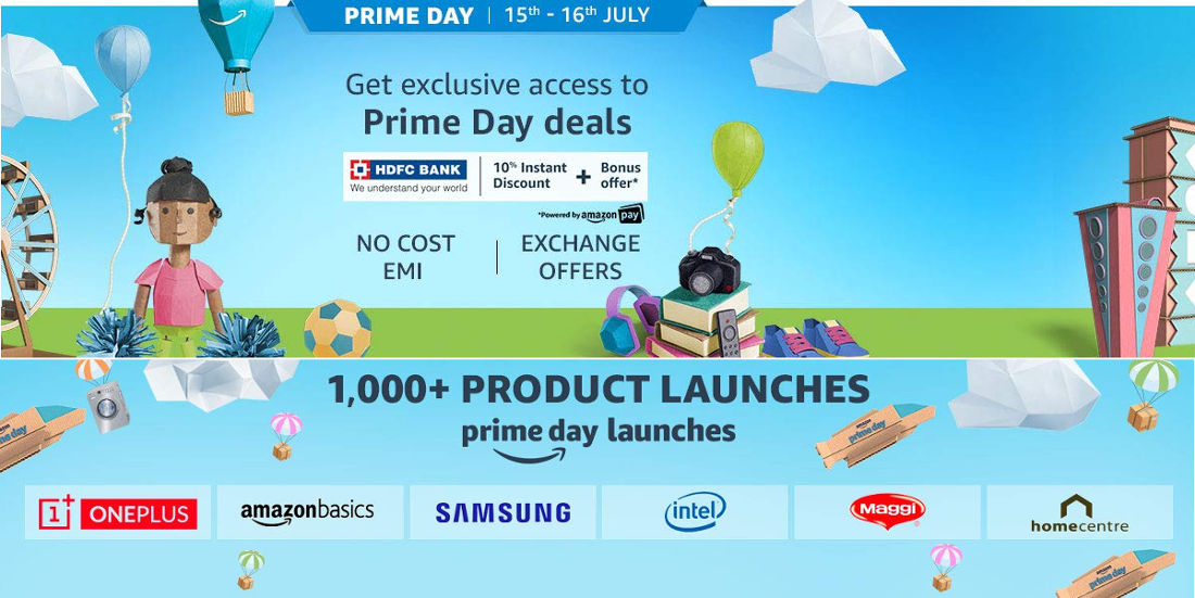 Amazon Prime Day Sale 2019 on July 15-16: Best deals on