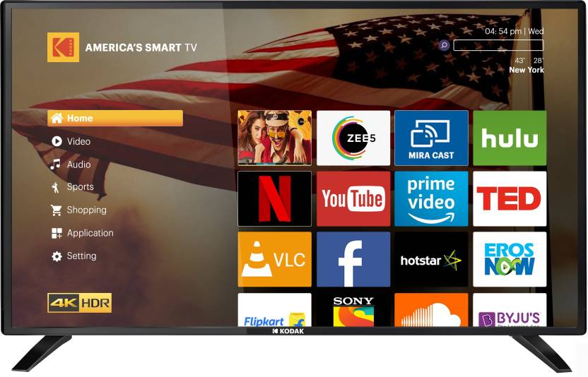 Kodak XPRO 43-inch and 49-inch Full HD Smart LED TVs launched in India starting at Rs. 20999