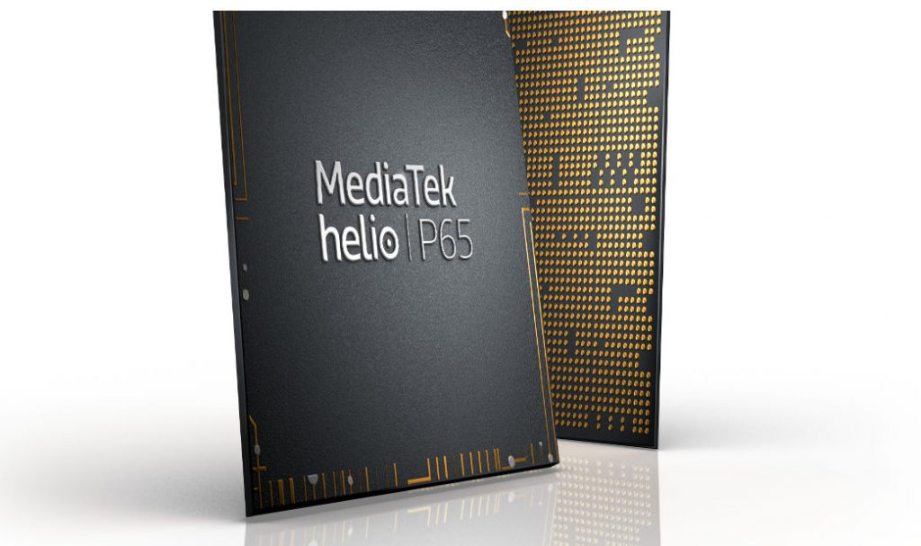 MediaTek Helio P65 12nm Octa-core SoC with support for 48MP