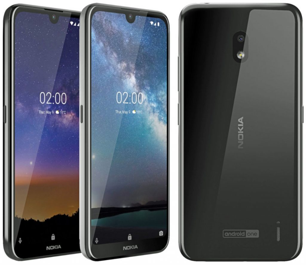 Nokia 2 2 Android One phone with 5 71-inch HD+ 19:9 display