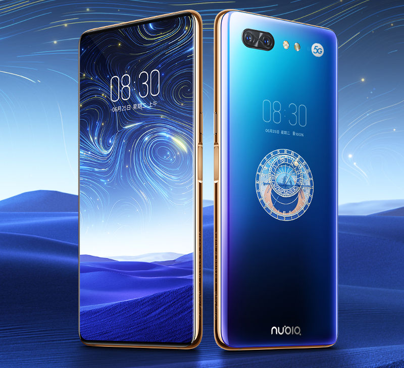 Nubia X 5G dual-screen phone with Snapdragon 855, X50 5G