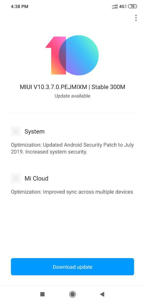 POCO F1 MIUI Software Update Tracker [Update: MIUI V10 3 7 0]