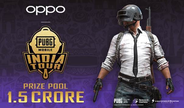 OPPO PUBG MOBILE India Tour 2019 lets you win a total cash