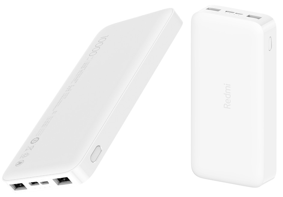 Redmi 20000mAh two-way fast charging and 10000mAh power banks with dual input and output ports announced