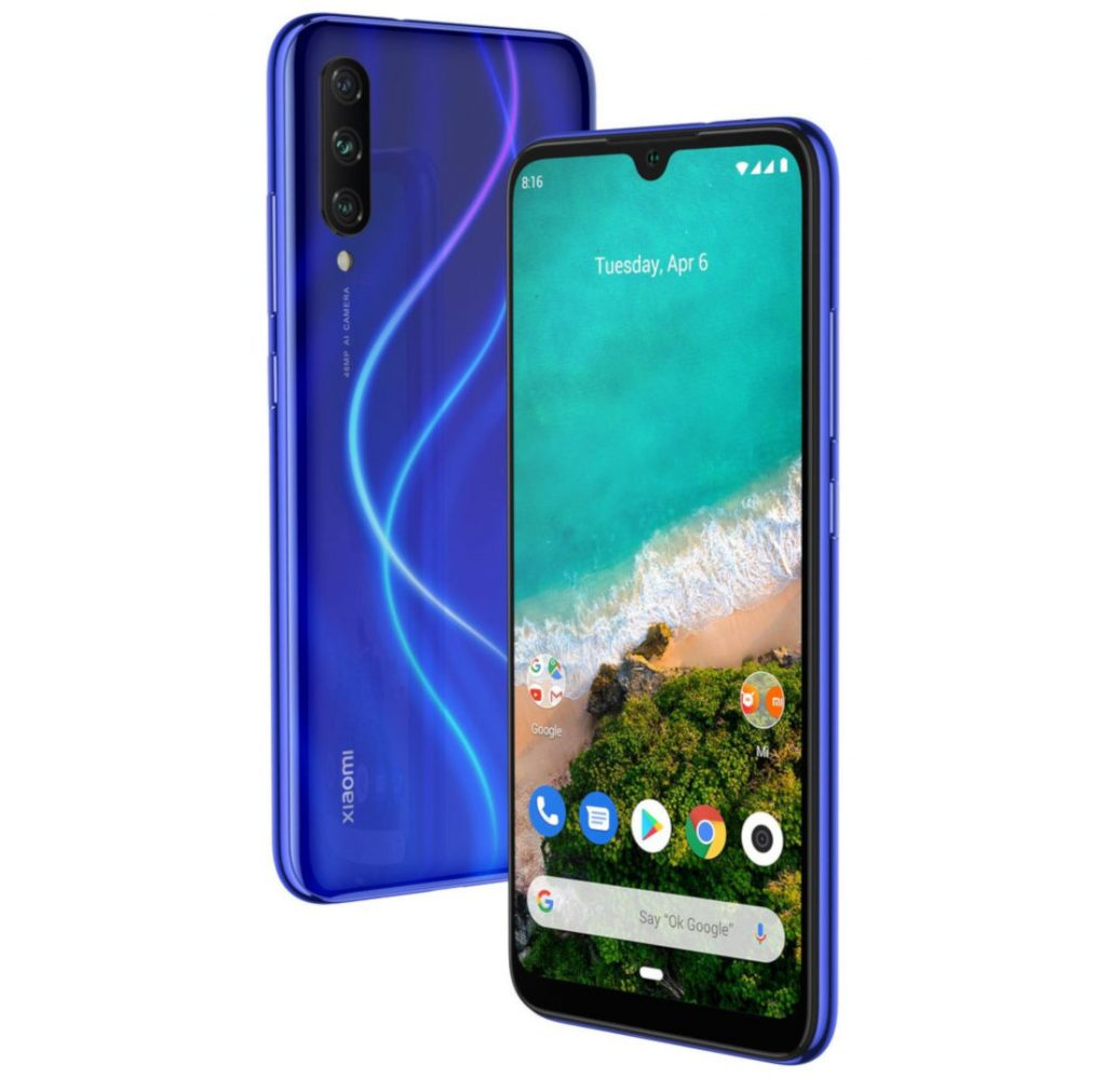 Xiaomi Mi A3 with 6-inch AMOLED display, triple rear cameras, 32MP front camera, in-display fingerprint sensor surfaces