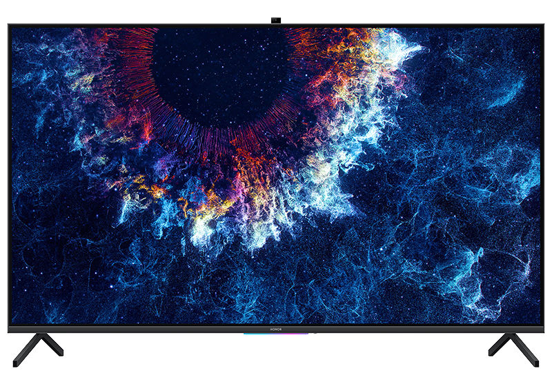 HONOR Vision 55-inch 4K HDR TV with HarmonyOS, Pop-up AI camera, 6.9mm slim frameless design announced