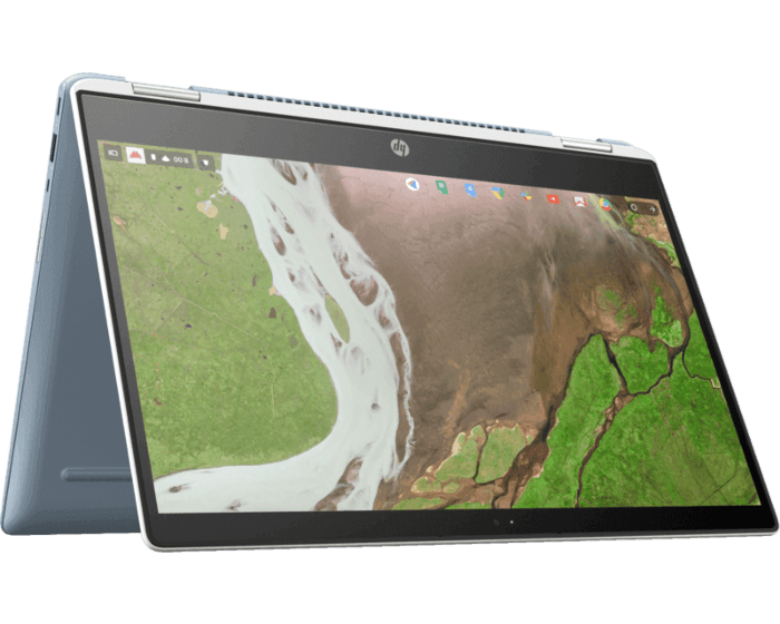 HP Chromebook x360 with 14-inch touchscreen, up to 8th Gen
