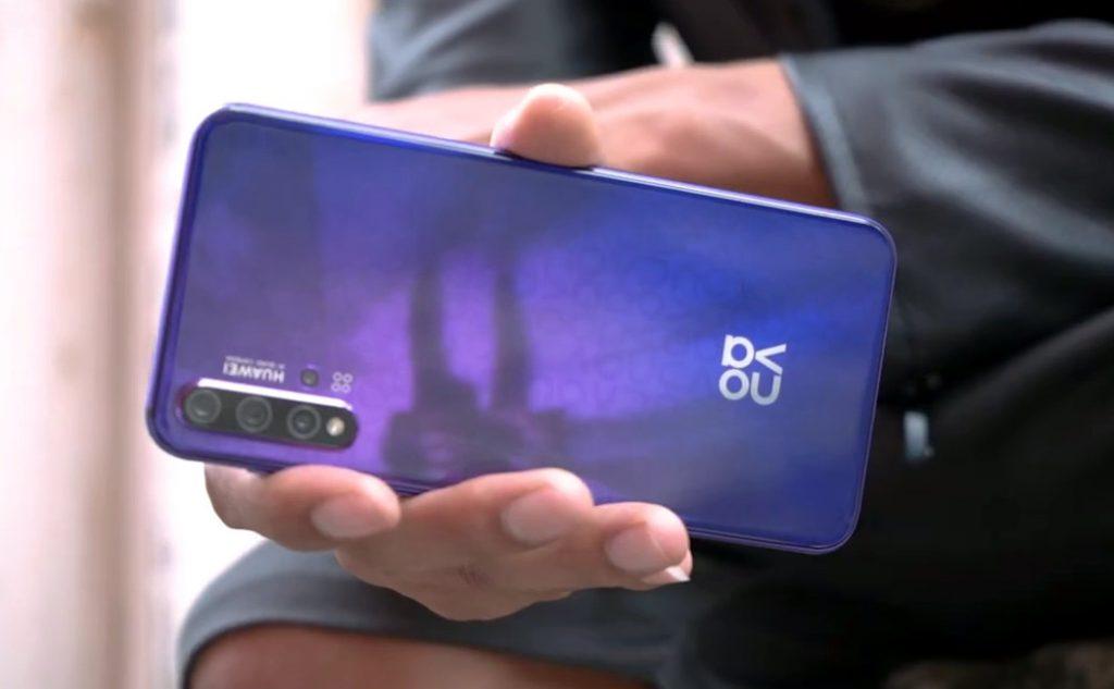 Huawei Nova 5t With Quad Rear Cameras Teased Ahead Of