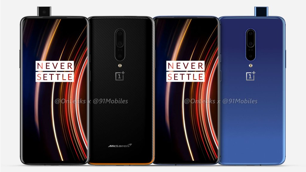 OnePlus 7T Pro and OnePlus 7T Pro McLaren Edition with 6.67-inch Quad HD 90Hz curved display, Snapdragon 855 Plus surface ahead of India launch in September