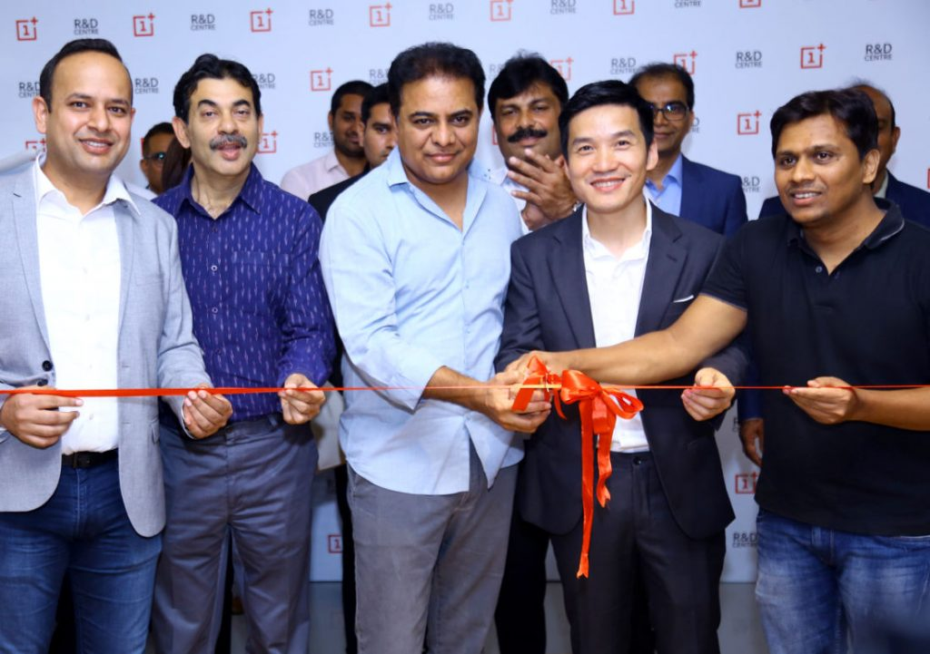 Image result for OnePlus Opens R&D Facility in Hyderabad, Will Invest Rs. 1,000 Crores Over 3 Years