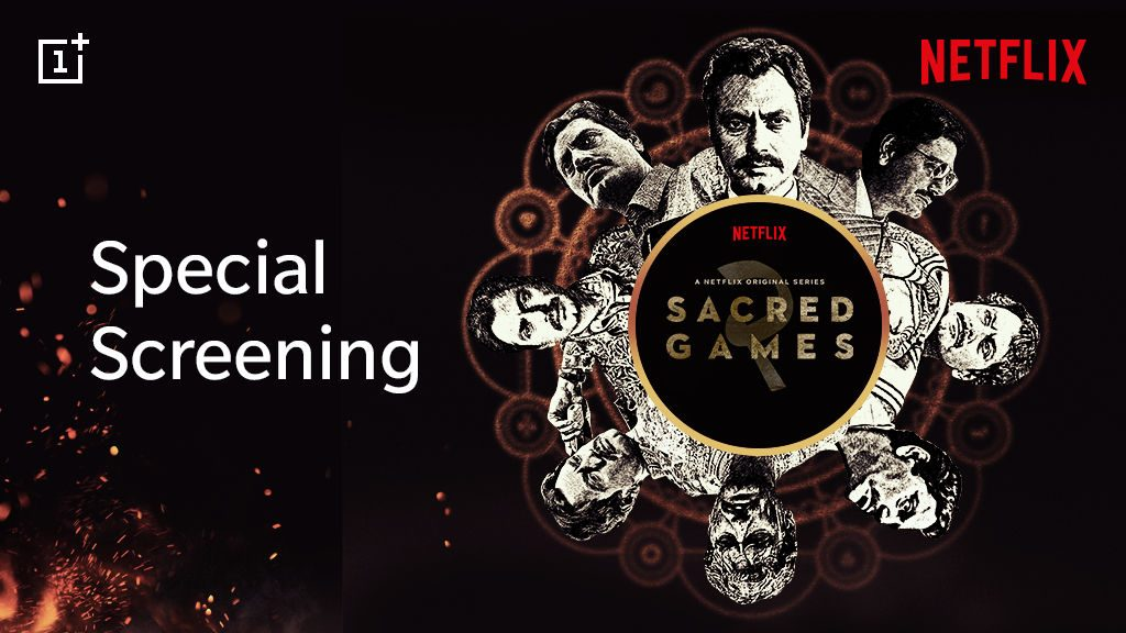 OnePlus users get a chance to watch Sacred Games Season 2 screening on August 14