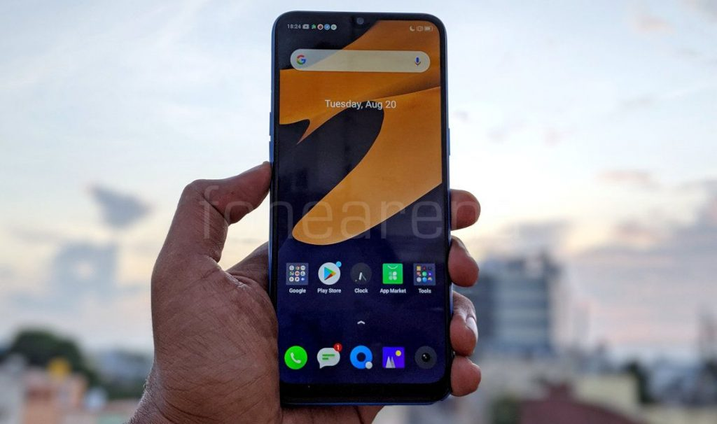 Realme 5 update brings camera improvements and Digital Wellbeing