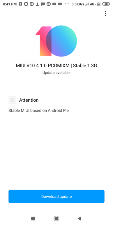 Xiaomi Redmi 6 and Redmi 6A Android 9 0 Pie-based MIUI global stable