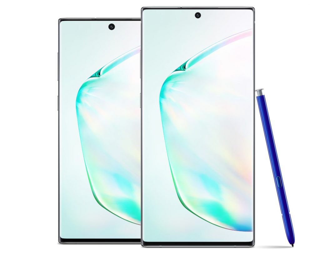Samsung Galaxy Note10 and Galaxy Note10+ with Dynamic AMOLED