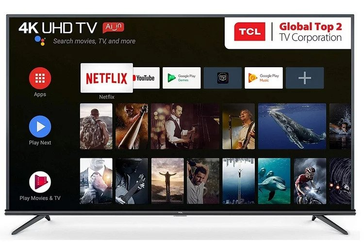 TCL P8S, P8E, P8 Series 4K AI TVs launched in India starting at Rs. 27990