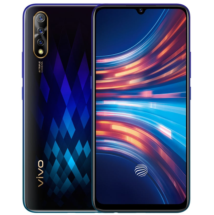 wholesale dealer 5fe92 ac0cf Vivo S1 with 6.38-inch FHD+ Super AMOLED display, in-display ...