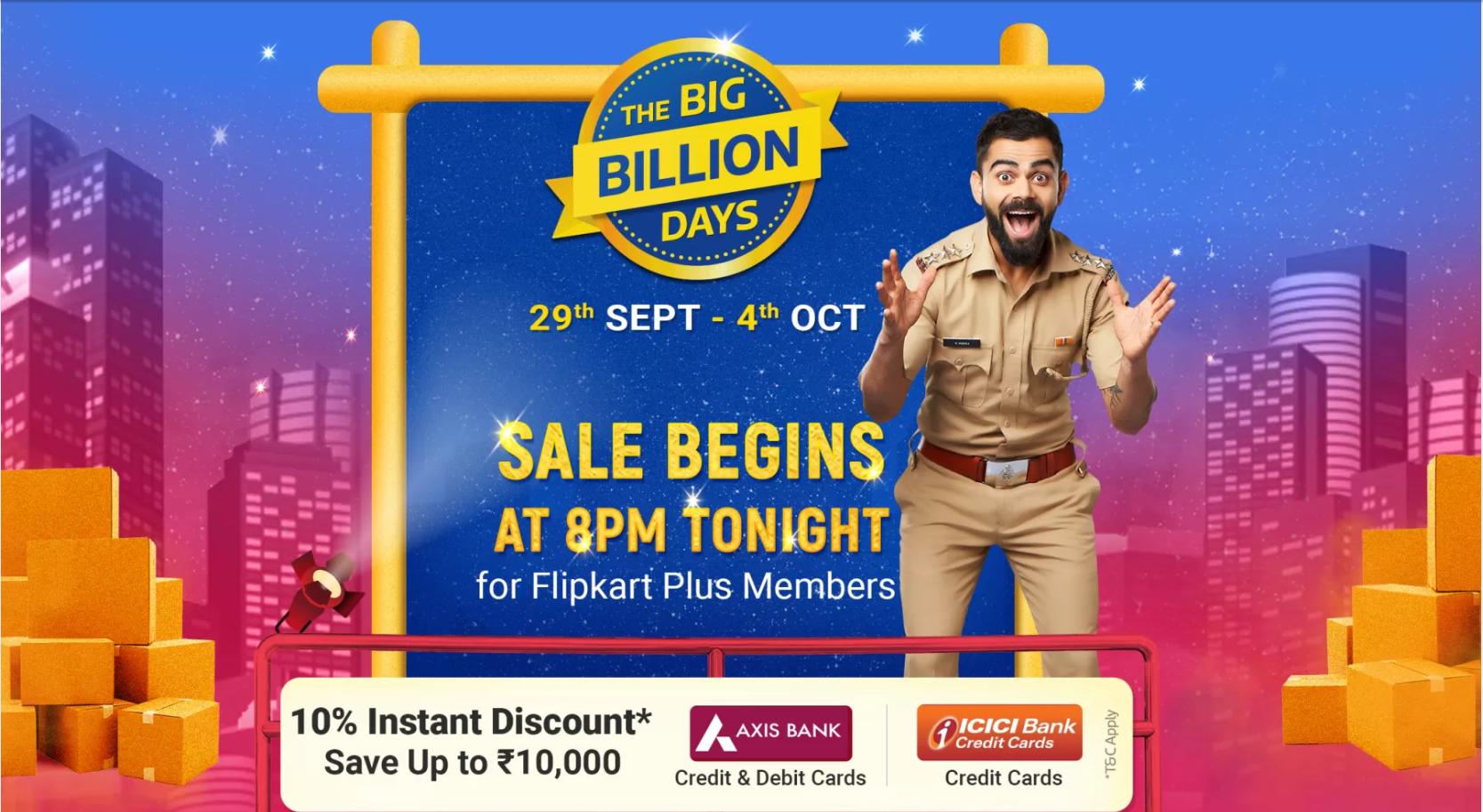Flipkart Big Billion Days Sale 2019: Best deals on LED TVs, Smart devices and more