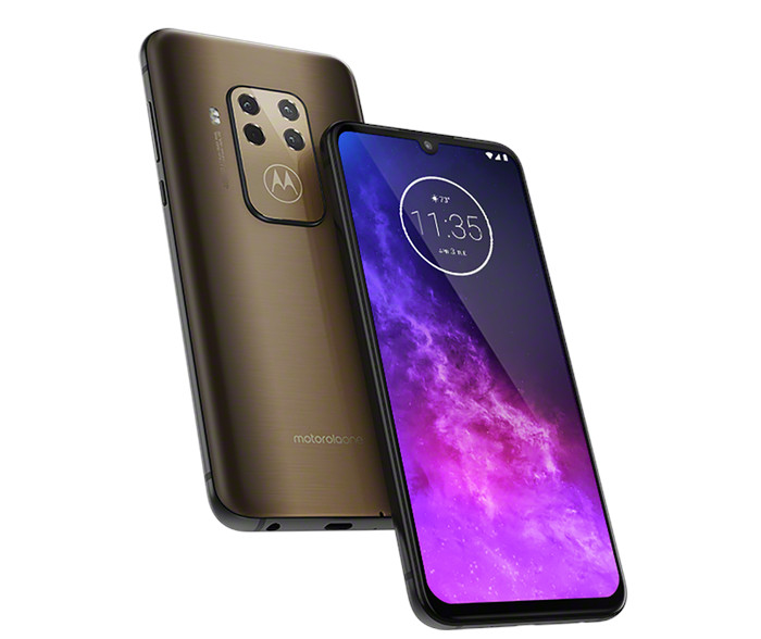 Motorola One Zoom with 6 4-inch FHD+ OLED screen, Quad rear