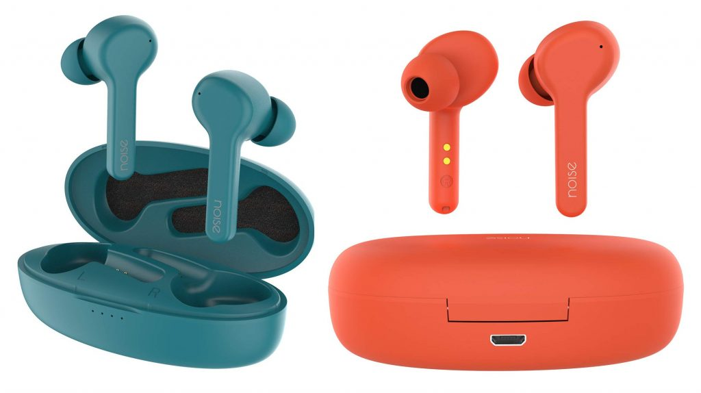Noise Shots X-Buds true wireless Bluetooth 5.0 earbuds launched for Rs. 3999 [Update: Teal Green and Peach Orange colors]