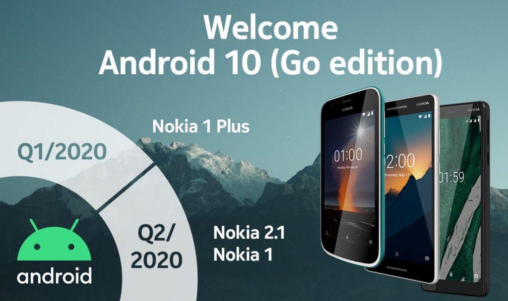 Ini Ponsel Nokia yang Cicipi Android 10 Go