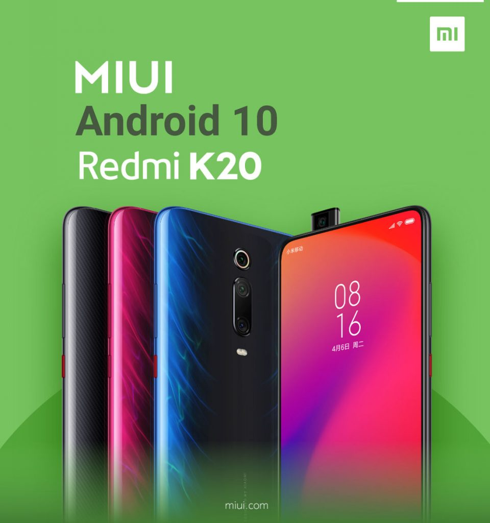 Redmi K20 Pro Android 10 MIUI Update Rolling Out To