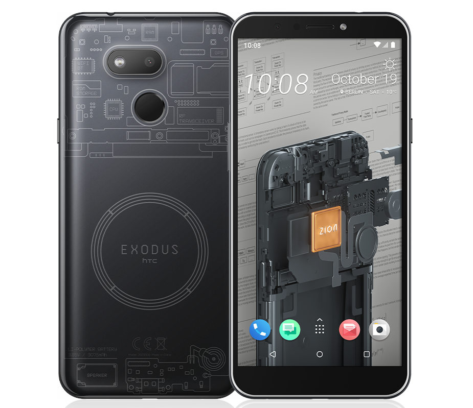 HTC Exodus 1s cheaper native Blockchain smartphone starts rolling out
