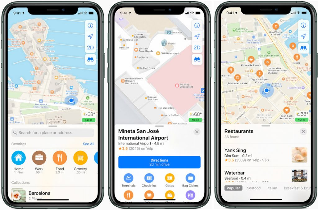 Apple rolls out new redesigned Maps with real time transit info, faster navigation and more in USA