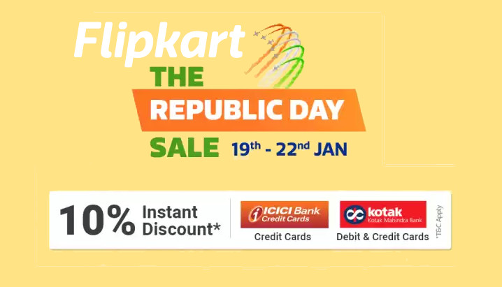 Flipkart Republic Day Sale: Discounts on Samsung Galaxy S9, S9 Plus, Redmi 8A, realme 3, offers on Laptops and more