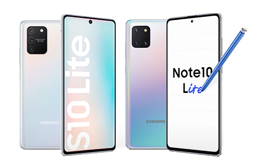 Samsung Galaxy S10 Lite and Note10 Lite with 6.7-inch FHD+ Super AMOLED Infinity-O Display, triple rear cameras announced