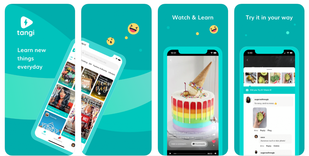 'Tangi' short video platform focussed on DIY and creativity released by Google's Area 120