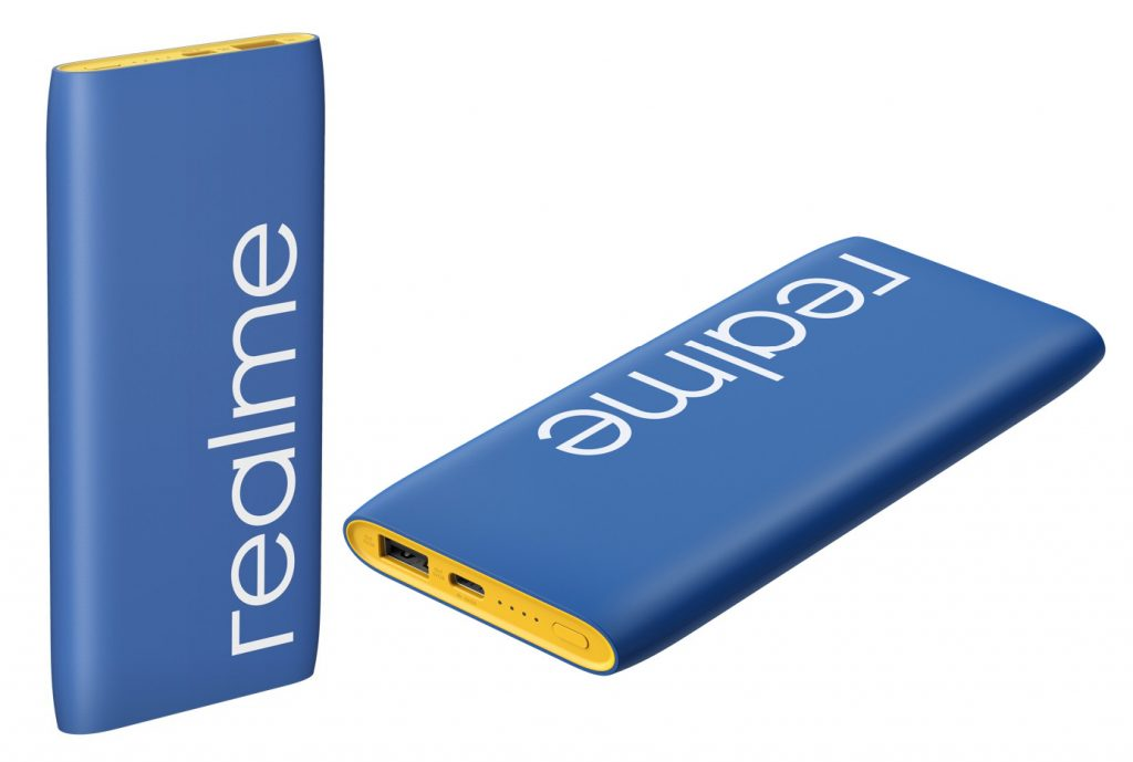Realme 10000mAh power bank Classic Blue version launched in India, available from January 26