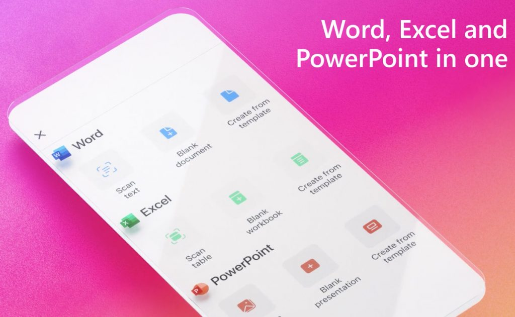Microsoft launches new Office app that combines Word, Excel, and PowerPoint for all iOS and Android users