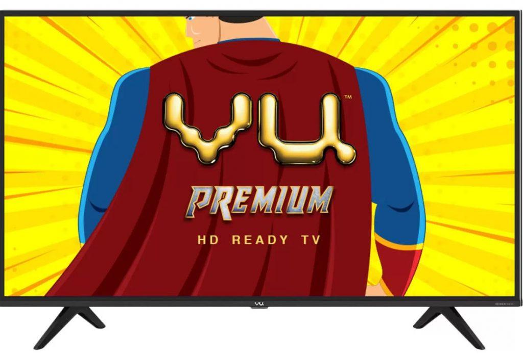 Vu Premium 32 Inch Hd And 43 Full, Does Vu Tv Have Screen Mirroring