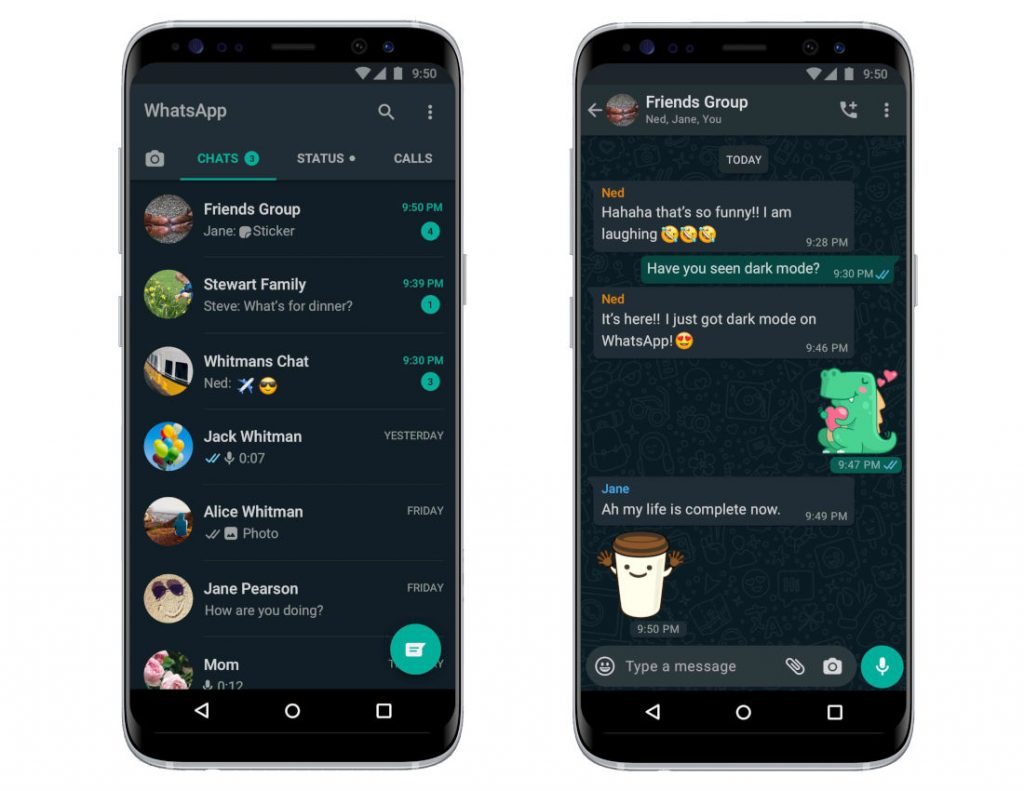 Dark Mode Whatsapp Ios