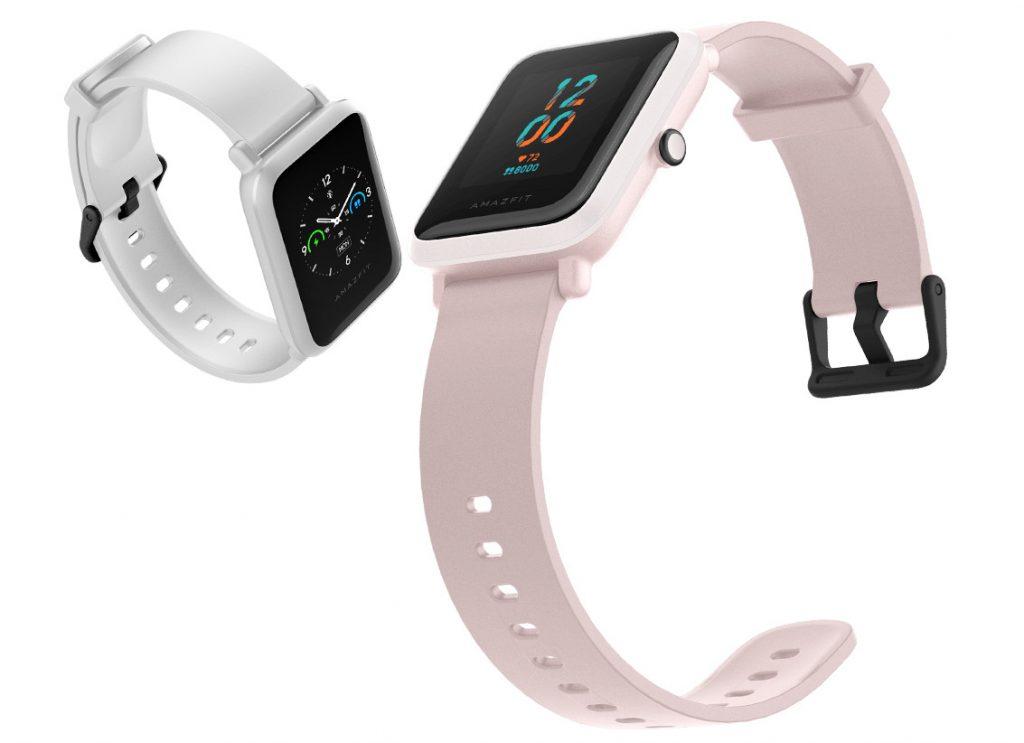 يبدأ Amazfit Bip S بشاشة 1.28 بوصة تعمل باللمس ملونة ، ومستشعر معدل ضربات القلب ، ونظام تحديد المواقع العالمي ، وعمر بطارية يصل إلى 30 يومًا 1