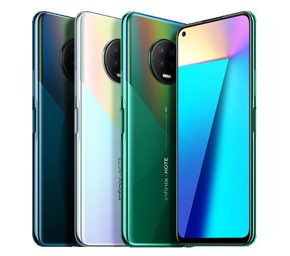 انفنيكس Note 7 و Note تم الإعلان عن 7 Lite مع شاشة Infinity-O وكاميرات خلفية رباعية وبطارية 5000mAh 1