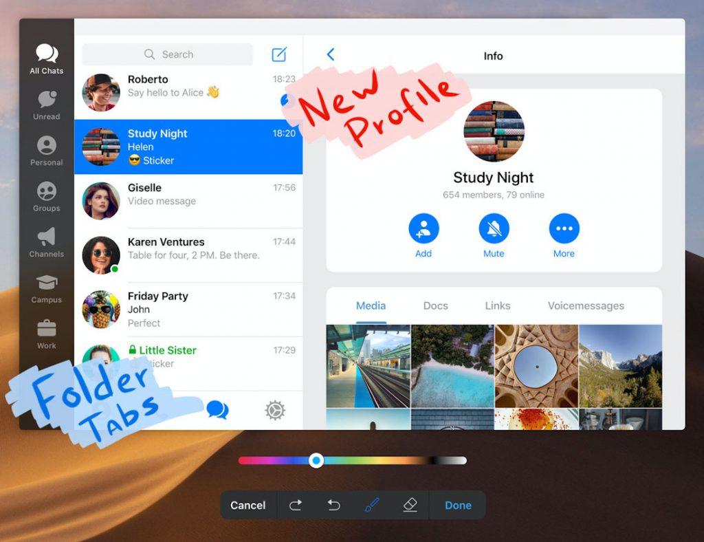 يجلب Telegram v6.1.0 اختبارات محسنة ودليل الملصقات والمزيد ؛ يتجاوز 400 مليون مستخدم شهريًا 3