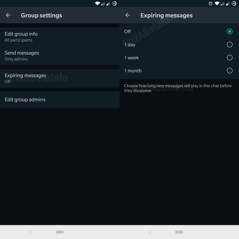 قد يتلقى WhatsApp لنظام Android رسائل منتهية الصلاحية ، ودعم أجهزة متعددة والمزيد قريبًا 1