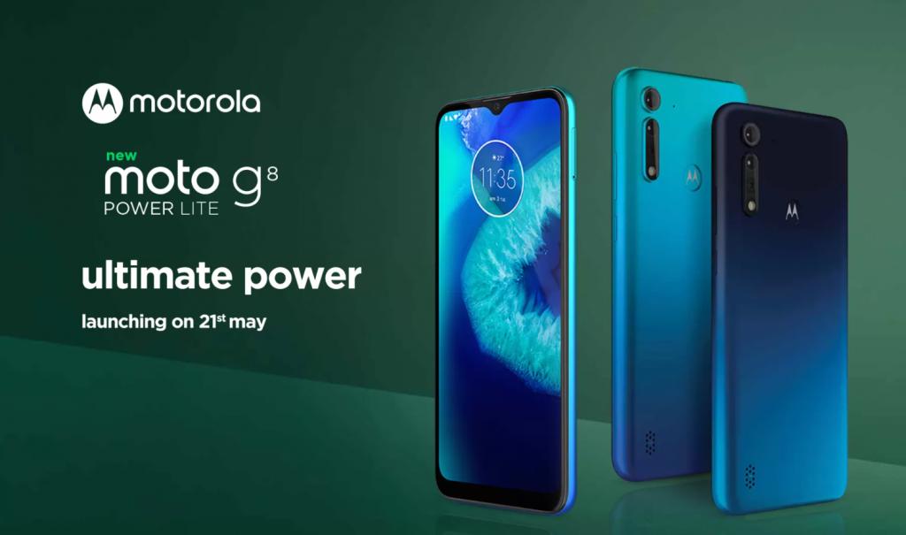Moto G8 Power Lite مع شاشة Max Vision مقاس 6.5 بوصة وكاميرات خلفية ثلاثية يتم إطلاقها في الهند في 21 مايو 1